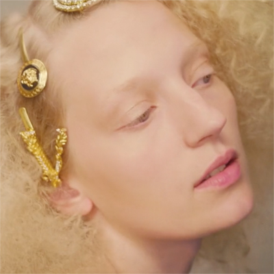 metal magazine new issue with our fashion film the golden bird, starring marie louwes and filmed by Jánik von Wilmsdorff